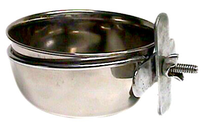 APP2064 30OZ STAINLESS STEEL COOP CUP W/CLAMP