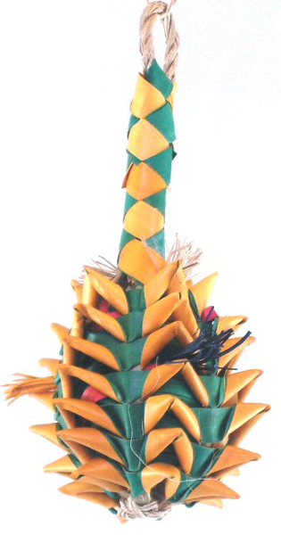 PL 03364 PINEAPPLE FORAGING TOY SMALL
