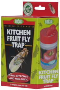 SS S415 KITCHEN FRUIT FLY TRAP/WITH LURES
