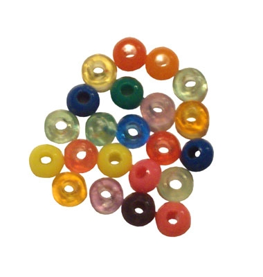 RM BSQ14MM100 SMALL SQUISHED BEADS (100)