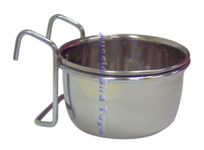 APP2072 10oz STAINLESS STEEL COOP CUP W/ HOOK